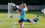 SOUTHAMPTON, ENGLAND - July 21: Phoebe Williams during Southampton Women's pre-season training at Staplewood Training Ground on July 21, 2021 in Southampton, England. (Photo by Isabelle Field/Southampton FC via Getty Images)