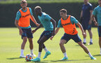 SOUTHAMPTON, ENGLAND - JULY 22: Moussa Djenepo during a Southampton FC pre season training session at The Staplewood Campus on July 22, 2021 in Southampton, England. Photo by Matt Watson/Southampton FC via Getty Images