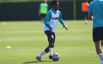 SOUTHAMPTON, ENGLAND - JULY 22: Kyle Walker-Peters during a Southampton FC pre season training session at The Staplewood Campus on July 22, 2021 in Southampton, England. Photo by Matt Watson/Southampton FC via Getty Images