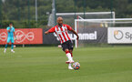 SOUTHAMPTON, ENGLAND - JULY 24: Nathan Redmond of Southampton during a pre-season friendly match between Southampton FC and Fulham at The Staplewood Campus on July 24, 2021 in Southampton, England. Photo by Matt Watson/Southampton FC via Getty Images