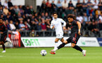 SWANSEA, WALES - JULY 31: Che Adams of Southampton during the pre-season friendly match between Swansea City and Southampton FC, at The Liberty Stadium on July 31, 2021 in Swansea, Wales. (Photo by Matt Watson/Southampton FC via Getty Images)