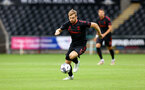 SWANSEA, WALES - JULY 31: Stuart Armstrong of Southampton during the pre-season friendly match between Swansea City and Southampton FC, at The Liberty Stadium on July 31, 2021 in Swansea, Wales. (Photo by Matt Watson/Southampton FC via Getty Images)