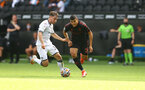 SWANSEA, WALES - JULY 31: Mohamed Elyounoussi of Southampton during the pre-season friendly match between Swansea City and Southampton FC, at The Liberty Stadium on July 31, 2021 in Swansea, Wales. (Photo by Matt Watson/Southampton FC via Getty Images)
