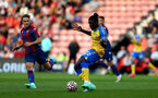 SOUTHAMPTON, ENGLAND - AUGUST 04: Mohammed Salisu of Southampton during pre-season friendly between Southampton and Levante at St Mary's Stadium on August 04, 2021 in Southampton, England. (Photo by Isabelle Field/Southampton FC via Getty Images)