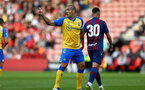 SOUTHAMPTON, ENGLAND - AUGUST 04: Oriol Romeu of Southampton during pre-season friendly between Southampton and Levante at St Mary's Stadium on August 04, 2021 in Southampton, England. (Photo by Isabelle Field/Southampton FC via Getty Images)