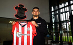 SOUTHAMPTON, ENGLAND - AUGUST 09: Southampton FC sign Armando Broja on loan from Chelsea, pictured at the Staplewood Campus on August 09, 2021 in Southampton, England. (Photo by Matt Watson/Southampton FC via Getty Images)