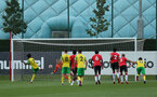 Norwich score their third, penalty. Southampton B v Norwich City U23, Premier League 2, Division 2, Staplewood Campus, Marchwood, Southampton Picture: Chris Moorhouse  Sunday 15th August 2021