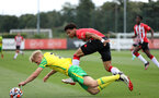Dare Olufunwa. Southampton B v Norwich City U23, Premier League 2, Division 2, Staplewood Campus, Marchwood, Southampton Picture: Chris Moorhouse  Sunday 15th August 2021