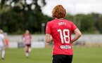 SOUTHAMPTON, ENGLAND - AUGUST 15: Molly Mott of Southampton during the FA Women's National League Southern Premier match between Southampton Women's and MK Dons Ladies at Snow's Stadium on August 15, 2021 in Southampton, England. (Photo by Isabelle Field/Southampton FC via Getty Images)