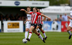 SOUTHAMPTON, ENGLAND - AUGUST 15: Lucia Kendall of Southampton during the FA Women's National League Southern Premier match between Southampton Women's and MK Dons Ladies at Snow's Stadium on August 15, 2021 in Southampton, England. (Photo by Isabelle Field/Southampton FC via Getty Images)