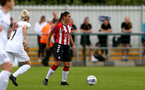 SOUTHAMPTON, ENGLAND - AUGUST 15: Shannon Sievwright of Southampton during the FA Women's National League Southern Premier match between Southampton Women's and MK Dons Ladies at Snow's Stadium on August 15, 2021 in Southampton, England. (Photo by Isabelle Field/Southampton FC via Getty Images)