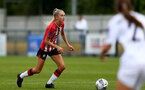 SOUTHAMPTON, ENGLAND - AUGUST 15: Phoebe Williams of Southampton during the FA Women's National League Southern Premier match between Southampton Women's and MK Dons Ladies at Snow's Stadium on August 15, 2021 in Southampton, England. (Photo by Isabelle Field/Southampton FC via Getty Images)