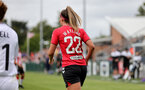 SOUTHAMPTON, ENGLAND - AUGUST 15: Ciara Watling of Southampton during the FA Women's National League Southern Premier match between Southampton Women's and MK Dons Ladies at Snow's Stadium on August 15, 2021 in Southampton, England. (Photo by Isabelle Field/Southampton FC via Getty Images)