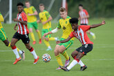Saints youngsters earn opening day win