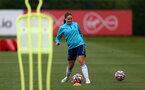 SOUTHAMPTON, ENGLAND - AUGUST 17: Georgie Freeland during Southampton Women's training session at  Staplewood Training Ground on August 17, 2021 in Southampton, England. (Photo by Isabelle Field/Southampton FC via Getty Images)