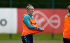 SOUTHAMPTON, ENGLAND - AUGUST 17: Ella Pusey during Southampton Women's training session at  Staplewood Training Ground on August 17, 2021 in Southampton, England. (Photo by Isabelle Field/Southampton FC via Getty Images)