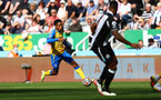 NEWCASTLE UPON TYNE, ENGLAND - AUGUST 28: Kyle Walker-Peters of Southampton during the Premier League match between Newcastle United  and  Southampton at St. James Park on August 28, 2021 in Newcastle upon Tyne, England. (Photo by Matt Watson/Southampton FC via Getty Images)