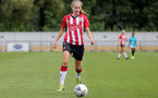SOUTHAMPTON, ENGLAND - AUGUST 29: Katie Rood of Southampton during Women's National League Southern Premier match between Southampton Women and Gillingham at Snows Stadium on August 29, 2021 in Southampton, England. (Photo by Isabelle Field/Southampton FC via Getty Images)
