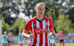 SOUTHAMPTON, ENGLAND - AUGUST 29:  Ella Morris of Southampton during Women's National League Southern Premier match between Southampton Women and Gillingham at Snows Stadium on August 29, 2021 in Southampton, England. (Photo by Isabelle Field/Southampton FC via Getty Images)