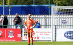 SOUTHAMPTON, ENGLAND - AUGUST 29: Kayla Rendell of Southampton during Women's National League Southern Premier match between Southampton Women and Gillingham at Snows Stadium on August 29, 2021 in Southampton, England. (Photo by Isabelle Field/Southampton FC via Getty Images)