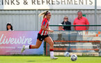 SOUTHAMPTON, ENGLAND - AUGUST 29: Ciara Watling of Southampton during Women's National League Southern Premier match between Southampton Women and Gillingham at Snows Stadium on August 29, 2021 in Southampton, England. (Photo by Isabelle Field/Southampton FC via Getty Images)