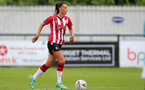 SOUTHAMPTON, ENGLAND - AUGUST 29: Laura Rafferty of Southampton during Women's National League Southern Premier match between Southampton Women and Gillingham at Snows Stadium on August 29, 2021 in Southampton, England. (Photo by Isabelle Field/Southampton FC via Getty Images)