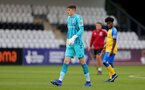 BOREHAMWOOD, ENGLAND - SEPTEMBER 02: Oliver Wright of Southampton during the Premier League Cup match between Arsenal and Southampton B Team at Meadow Park on September 02, 2021 in Borehamwood, England. (Photo by Isabelle Field/Southampton FC )