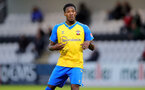 BOREHAMWOOD, ENGLAND - SEPTEMBER 02: Remello Mitchell of Southampton during the Premier League Cup match between Arsenal and Southampton B Team at Meadow Park on September 02, 2021 in Borehamwood, England. (Photo by Isabelle Field/Southampton FC )