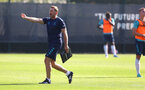 SOUTHAMPTON, ENGLAND - SEPTEMBER 07: Southampton manager Ralph Hasenhüttl during a Southampton FC training session at the Staplewood Campus on September 07, 2021 in Southampton, England. (Photo by Matt Watson/Southampton FC via Getty Images)
