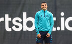SOUTHAMPTON, ENGLAND - SEPTEMBER 09: Mohamed Elyounoussi during a Southampton FC training session at the Staplewood Campus on September 09, 2021 in Southampton, England. (Photo by Matt Watson/Southampton FC via Getty Images)
