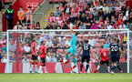 SOUTHAMPTON, ENGLAND - SEPTEMBER 11: Alex McCarthy of Southampton during the Premier League match between Southampton  and  West Ham United at St Mary's Stadium on September 11, 2021 in Southampton, England. (Photo by Isabelle Field/Southampton FC via Getty Images)