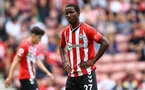SOUTHAMPTON, ENGLAND - SEPTEMBER 11: Ibrahima Diallo of Southampton during the Premier League match between Southampton  and  West Ham United at St Mary's Stadium on September 11, 2021 in Southampton, England. (Photo by Matt Watson/Southampton FC via Getty Images)
