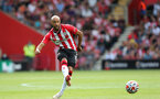 SOUTHAMPTON, ENGLAND - SEPTEMBER 11: Nathan Redmond during the Premier League match between Southampton and West Ham United at St Mary's Stadium on September 11, 2021, in Southampton, England. (Photo by Chris Moorhouse/Southampton FC via Getty Images)