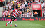 SOUTHAMPTON, ENGLAND - SEPTEMBER 11: Adam Armstrong during the Premier League match between Southampton and West Ham United at St Mary's Stadium on September 11, 2021, in Southampton, England. (Photo by Chris Moorhouse/Southampton FC via Getty Images)