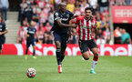 SOUTHAMPTON, ENGLAND - SEPTEMBER 11: Armando Broja during the Premier League match between Southampton and West Ham United at St Mary's Stadium on September 11, 2021, in Southampton, England. (Photo by Chris Moorhouse/Southampton FC via Getty Images)