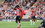 SOUTHAMPTON, ENGLAND - SEPTEMBER 11: Ibrahima Diallo during the Premier League match between Southampton and West Ham United at St Mary's Stadium on September 11, 2021, in Southampton, England. (Photo by Chris Moorhouse/Southampton FC via Getty Images)