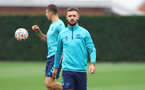 SOUTHAMPTON, ENGLAND - SEPTEMBER 14: Adam Armstrong during a Southampton FC training session at the Staplewood Campus on September 14, 2021 in Southampton, England. (Photo by Matt Watson/Southampton FC via Getty Images)