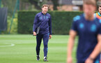SOUTHAMPTON, ENGLAND - SEPTEMBER 14: Southampton manager Ralph Hasenhüttl during a Southampton FC training session at the Staplewood Campus on September 14, 2021 in Southampton, England. (Photo by Matt Watson/Southampton FC via Getty Images)