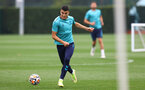 SOUTHAMPTON, ENGLAND - SEPTEMBER 14: Mohamed Elyounoussi during a Southampton FC training session at the Staplewood Campus on September 14, 2021 in Southampton, England. (Photo by Matt Watson/Southampton FC via Getty Images)