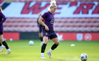 SOUTHAMPTON, ENGLAND - SEPTEMBER 16: Millie Bright during England Women's training session at St Mary's Stadium on September 16, 2021 in Southampton, England. (Photo by Isabelle Field/Southampton FC via Getty Images)