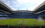 MANCHESTER, ENGLAND - SEPTEMBER 18: A general view inside the stadium ahead of the Premier League match between Manchester City and Southampton at Etihad Stadium on September 18, 2021 in Manchester, England. (Photo by Matt Watson/Southampton FC via Getty Images)