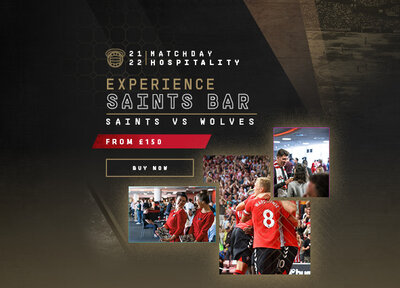 Book the Saints Bar for Wolves