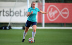 SOUTHAMPTON, ENGLAND - SEPTEMBER 22: Caitlin Morris during Southampton Women's training at Staplewood Training Ground on September 22, 2021 in Southampton, England. (Photo by Isabelle Field/Southampton FC via Getty Images)