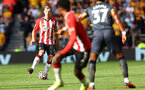 SOUTHAMPTON, ENGLAND - SEPTEMBER 26: James Ward-Prowse of Southampton during the Premier League match between Southampton and Wolverhampton Wanderers at St Mary's Stadium on September 26, 2021 in Southampton, England. (Photo by Matt Watson/Southampton FC via Getty Images)