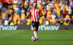 SOUTHAMPTON, ENGLAND - SEPTEMBER 26: Adam Armstrong of Southampton during the Premier League match between Southampton and Wolverhampton Wanderers at St Mary's Stadium on September 26, 2021 in Southampton, England. (Photo by Matt Watson/Southampton FC via Getty Images)