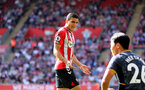 SOUTHAMPTON, ENGLAND - SEPTEMBER 26: Mohamed Elyounoussi during the Premier League match between Southampton and Wolverhampton Wanderers at St Mary's Stadium on September 26, 2021, in Southampton, England. (Photo by Chris Moorhouse/Southampton FC via Getty Images)