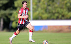 BIRMINGHAM, ENGLAND - SEPTEMBER 27: Ethan Burnett of Southampton during the Premier League 2 match between Birmingham City and Southampton B Team at Wast Hills Training Ground on September 27, 2021 in Birmingham , England. (Photo by Isabelle Field/Southampton FC via Getty Images)