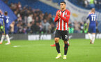 LONDON, ENGLAND - OCTOBER 02: Mohamed Elyounoussi of Southampton during the Premier League match between Chelsea and Southampton at Stamford Bridge on October 02, 2021 in London, England. (Photo by Matt Watson/Southampton FC via Getty Images)