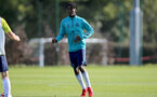 SOUTHAMPTON, ENGLAND - OCTOBER 11: Kegs Chauke during Southampton U18s training session at Staplewood Training Ground on October 12, 2021 in Southampton, England. (Photo by Isabelle Field/Southampton FC via Getty Images)