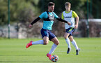 SOUTHAMPTON, ENGLAND - OCTOBER 11: Jack Turner during Southampton U18s training session at Staplewood Training Ground on October 12, 2021 in Southampton, England. (Photo by Isabelle Field/Southampton FC via Getty Images)